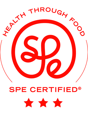 SPE three-star certification logo.